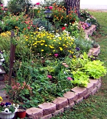 garden design with advice on composing a perennial garden with fall landscaping ideas from bloomsall